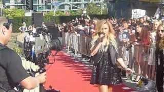 """Demi Lovato VMA 2012 Pre-Show """"Give Your Heart a Break"""" LIVE"""