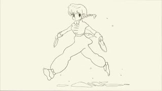 Ranma 1/2 animation imitation