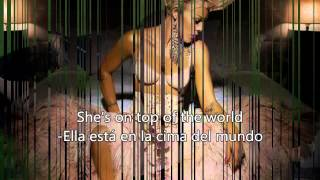P!nk -Girl On Fire -Español & English Lyrics