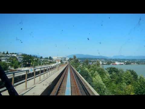 Przejazd SkyTrain Vancouver