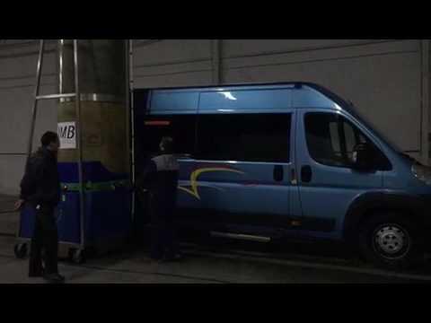 Como lavar un Minibus con Monocepillo JMB