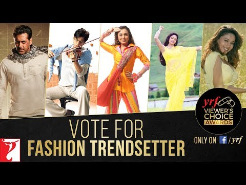 Fashion Trendsetter | YRF Viewer's Choice Awards | Vote & Win