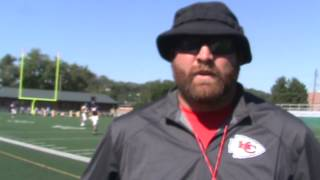 Interview with North Kansas City Hornets Football Offensive Coordinator Coach Logan Minnick