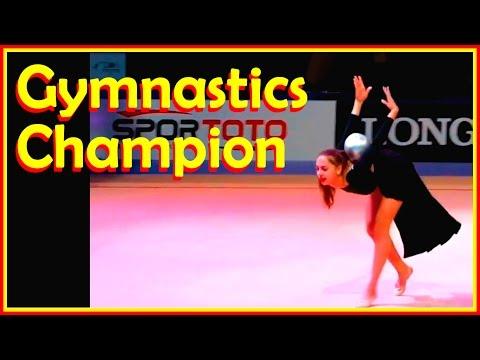 Russian Rhythmic Gymnastic Stars At The World Championship