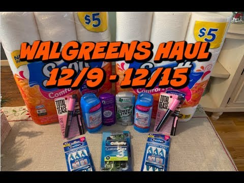 WALGREENS HAUL 12/9 - 12/15 | SUPER-CHEAP DEODORANT, MAKEUP & CLEARANCE FINDS!