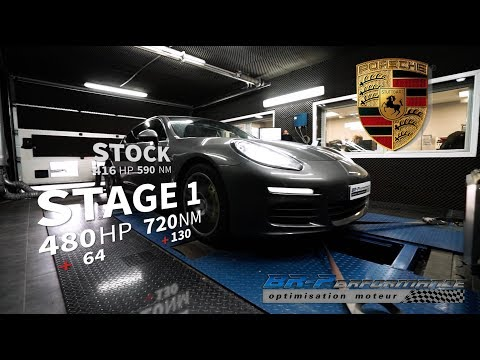 Porsche Panamera 3.0 DFI S E-HYBRID Remap Stage 1 By BR-Performance