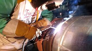 Welding with 5/32 rod