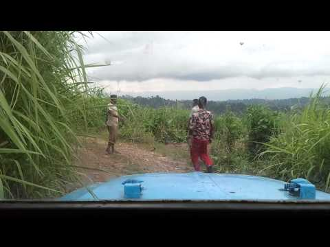Almost Accident – Dangerous hilly road in Bandarban, Bangladesh