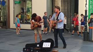 "AMAZING Street music in Vienna ""story of my life"" (One Direction)"