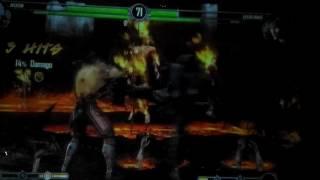 QuanChi vs Smoke! ROUND 2! Mortal Kombat 9! Xbox360