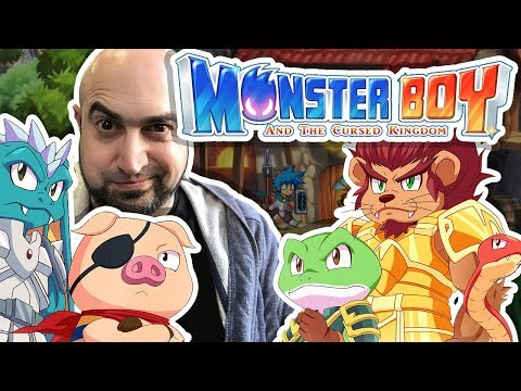 3x04 Monster Boy (1P) (Switch)