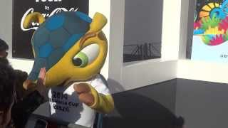 Fuleco 2014 FIFA World Cup in Brazil Official Mascot - Video