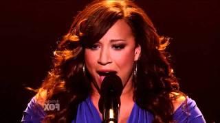 X Factor USA - Melanie Amaro - The world's Greatest - Live Show 5 - Top 9