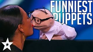 BEST And FUNNIEST PUPPET Auditions On Got Talent Around The World!   Got Talent Global