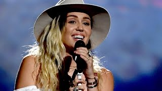 "Miley Cyrus CRIES During First Live Performance of ""Malibu"" at the 2017 Billboard Music Awards"