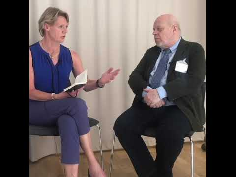 Vd intervjuar Olof Ehrenkrona