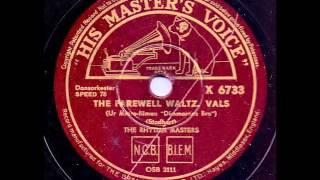 THE RHYTHM MASTERS - THE FAREWELL WALTZ