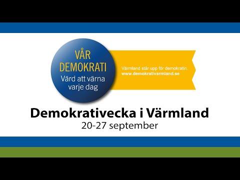 Demokrativeckan öppnar med Demokratispaning