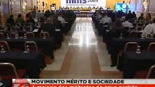 Notícia do I Congresso do MMS no Jornal da Noite da SIC em 21 de Março de 2009