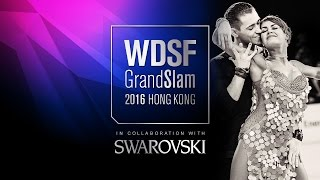 Lazzarini - Benedetti, ITA | 2016 GS LAT Hong Kong R3 C | DanceSport Total