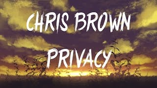 Chris Brown - Privacy (Female Version)(Lyrics)