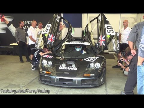 Mika Hakkinen Fly Around Laguna Seca in McLaren F1 GTR - AWESOME SOUNDS