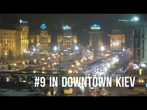 #9 How downtown Kiev looks