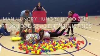 human hungry hungry hippo