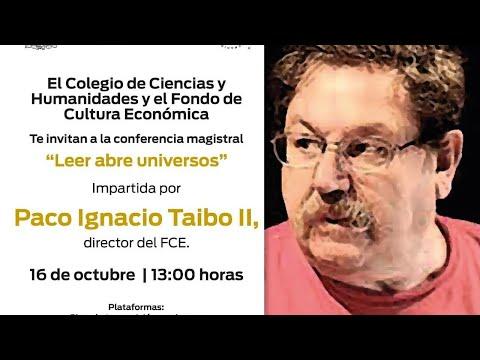 Vidéo de Paco Ignacio Taibo II