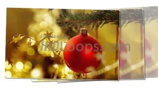 Christmas Worship Video Loops Snowman, Tree 2