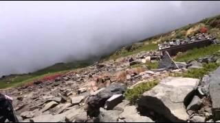 등산중 온타케 화산폭발