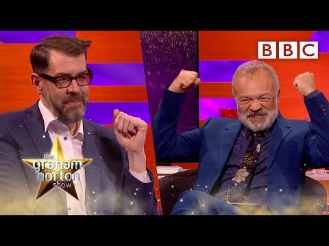 Richard Osman's greatest rival is Graham?!?   The Graham Norton Show – BBC