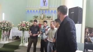 Surpresa para os noivos - Música Aleluia