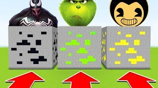 Minecraft : Do NOT CHOOSE THE WRONG ORE! (VENOM,GRINCH,BENDY)(Ps3/Xbox360/PS4/XboxOne/PE/MCPE)