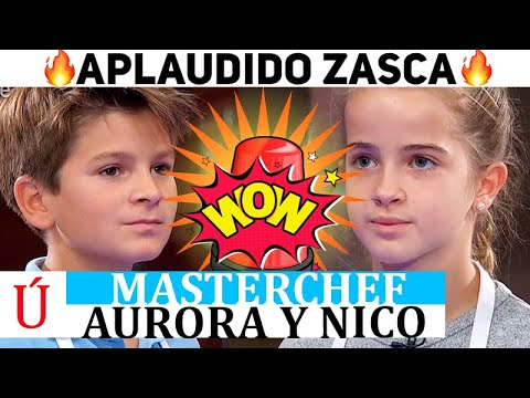 ¡Wow! ¡Lo que pasó en Masterchef! El sonado zasca de Aurora a Nico en MasterChef Junior 8