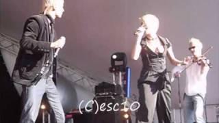 SunStroke Project & Olia Tira - Run Away live (Moldova Eurovision 2010) - Euro Village -27.5.10.wmv