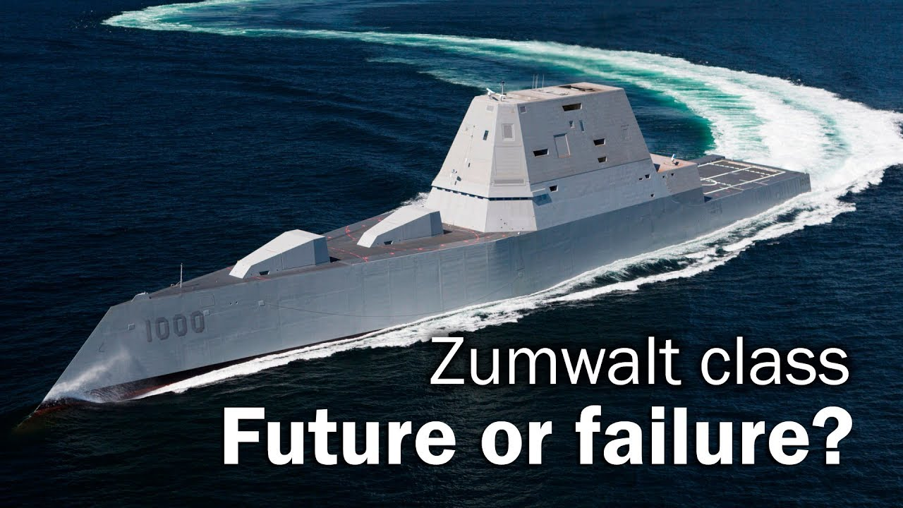 Zumwalt - Destroyer from the Future