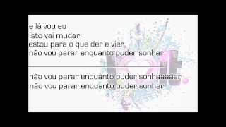 Mia Rose - Estou Para o Que der e Vier (Lyric Video)