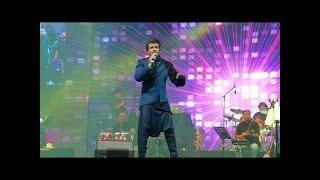 Main Agar kahoon with a Twist  Babul ki duayen  Sonu Nigam Live Concert at Global Village 2018
