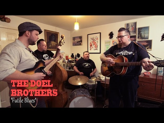 Vídeo en acústico de la canción Futile Blues de The Doel Brothers