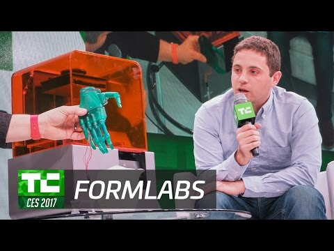 Retina 3D Printing with Formlabs at CES 2017