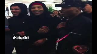 G Herbo Mobbed Strictly By His Fans At The Mall