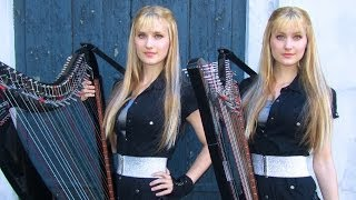THE HOUSE OF THE RISING SUN - Harp Twins - Camille and Kennerly HARP ROCK