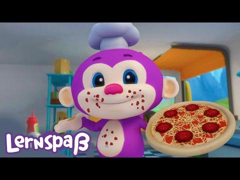 Lernspaß - Pizza Lied | Fisher-Price Deutsch | Kinderlieder | Cartoons für Kinder
