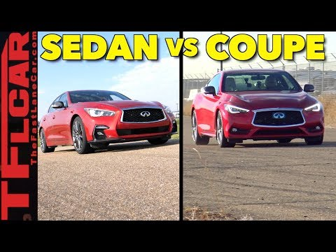 Sedan vs Coupe: Is The 2018 Infiniti Q50 or the  Q60 S Red Sport Hot or Not?
