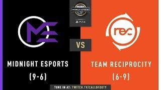Midnight Esports vs Team Reciprocity | CWL Pro League 2019 | Division A | Week 8 | Day 2