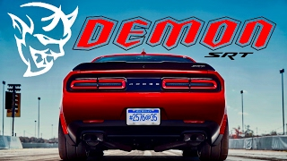 2018 Dodge Demon: NEWS UPDATE (Hidden Clues & Horsepower Revealed)