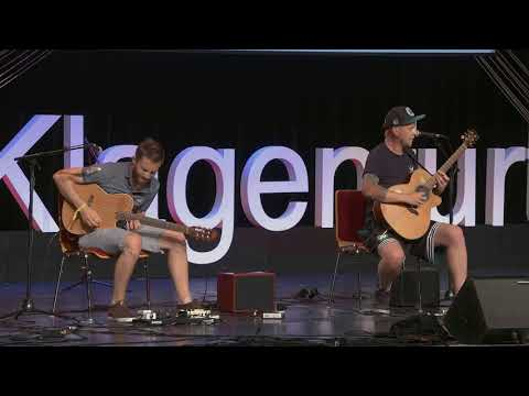 The Most Unexpected Acoustic Guitar Performance | The Showhawk Duo | TEDxKlagenfurt