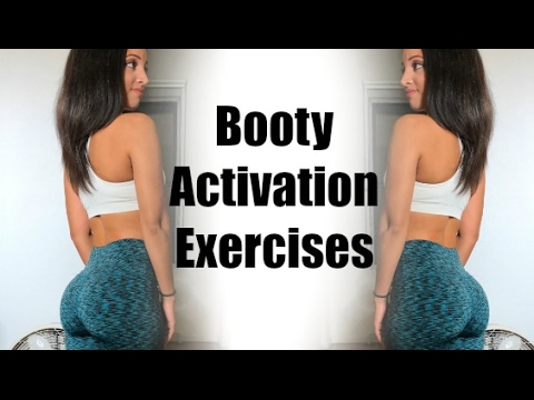Booty Activation Exercises | For a BIGGER Butt