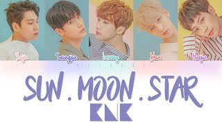 KNK( 크나큰) – SUN.MOON.STAR (해.달.별) Color Coded Lyrics Han/Rom/Eng